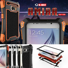 New Defender Shockproof Aluminum Glass Metal Case Cover For Galaxy Note 4 & S6