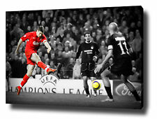 STEVEN GERRARD CANVAS PAINTING WALL ART PRINT POSTER PHOTO CHAMPIONS LEAGUE 2005