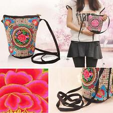 Chinese Ethnic Embroider Shoulder Bag Handbag Pouch Bag  For Girls Women T98
