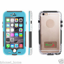 "Redpepper Water & Shockproof Heavy Duty Blue Case For iPhone 6/6s PLUS (5.5"")"