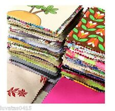 Craft Bag Fabric Samples/Remnants/ Offcuts Assorted Colours & Kind of Fabrics