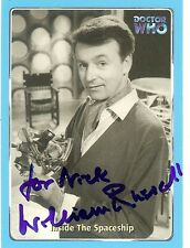 SIGNED WILLIAM RUSSELL DR WHO SCI FI UACC TV AND FILM SUPERMAN SIGNATURE UACC