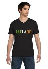 Ireland - Irish Pride Flag of Ireland St. Patrick's V-Neck T-Shirt Gift Idea