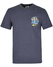 Weird Fish Cod Gear Mens T-Shirt in Navy
