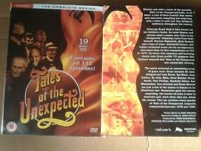 TALES OF THE UNEXPECTED The Complete Series 19 Disc Box Set  Fast  Post