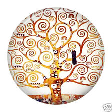 Klimt - Tree Of Life Cosmetic Hand Held Pocket MakeUp Purse Mirror