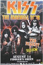 0412  Vintage Music Poster Art Kiss The Farewell Tour *FREE POSTERS