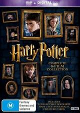 Harry Potter 8-Film Collection DVD Set in Region 4 for Australia Deathly Hallows