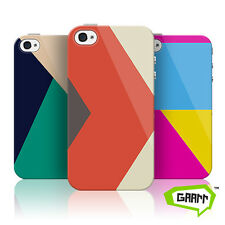 Abstract Colour Blocks Protective Snap on Hard Shell iPhone 4 Case / Cover