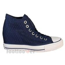 Shoes Converse All Star Lux Canvas 552696c woman Blue Dress Crochet