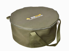 OZtrail Heavy Duty Canvas 12 Quart Campfire Camp Oven Carry Bag Camping Outdoors