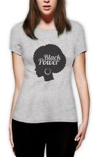 Black Woman Afro - Black Power Black History Month Nah Women T-Shirt Freedom