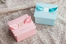 10pc Baby Shower Bomboniere/Favour Boxes Boy/Girl Blue/Pink Birthday Christening