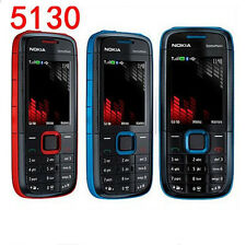 "Nokia 5130 5130XM Unlocked Original 2.0"" 2MP Camera 2G Keyboard Cell Phone"