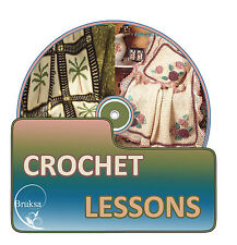 Learn to Crochet, Plus 1500 Printable Crochet Patterns & Guides On DVD