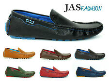 NEW Mens Slip On Casual Boat Deck Mocassin Designer Loafers Driving Shoes Size