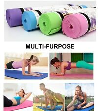Non-slip Pad Exercise Yoga Mat 6MM Thick Fitness Lose Weight Gym Durable