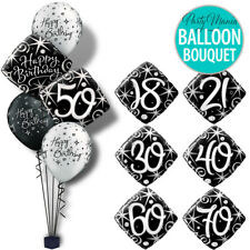 18TH 21ST 30TH 40TH 50TH 60TH 70TH 80TH PARTY SUPPLIES FOIL BALLOONS