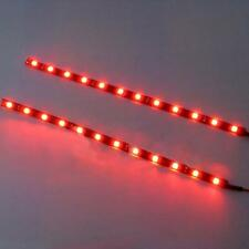 2X LED Strip Waterproof 30cm 5050 SMD LED Strip Light Flexible 12V Car Decor Hot