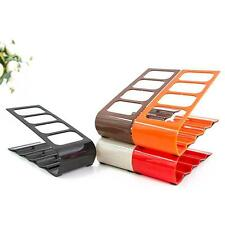 Hot TV DVD VCR Remote Control Storage Rack Cell Phone Holder Storage Stand LL