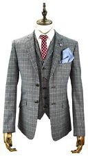Mens Designer Tweed Blazer Waistcoat Trousers 3 Piece Suit Sold Separately New