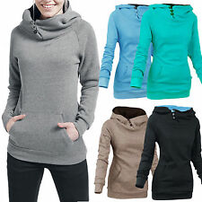 Fashion Womens Casual Hooded Sweatshirt Lady Pullover Hoodie Coat Outerwear Tops