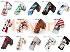 Golf Magnetic Putter Cover Headcover For Cleveland Scotty Cameron Odyssey Blade