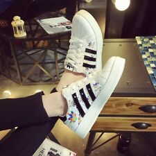 Preppy School Student Womens Fashion Lace Up Flat Casual Athletic Sneakers Shoes