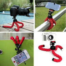New Mini Flexible Sponge Legs Octopus Tripod Stand For GoPro SLR DSLR DV Camera