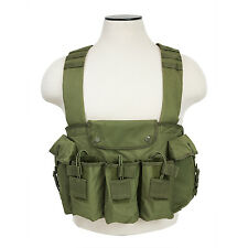 VISM CVAKCR2921 Tactical AK Chest Rig with Mag Pouches