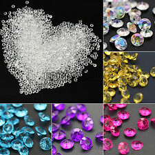 2000Pcs 4.5mm Table Crystals Diamonds Scatter Acrylic Confetti  Wedding Decor
