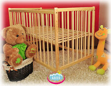 Baby cot Straight Pine + choose to mattress / baby cot for sale / cot mattress