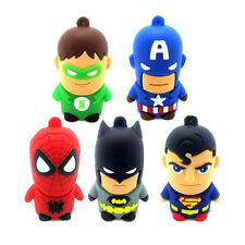 New 8GB-32GB Cartoon warriors model usb memory flash stick pen drive U disk gift