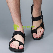 Plus Size Mens Outdoor Fashion Flip-flops Summer Beach Tong Casual Sandals Shoes