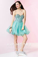 Formal Beaded Short Prom Homecoming Dress Cocktail Party Evening Bridesmaid Gown