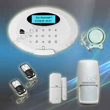 M3GB App Wireless GSM SMS Wireless Home Security Alarm System & MultipleDetector
