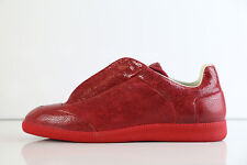 MMM Maison Martin Margiela Future Low Red Crackle Made in Italy 111 44