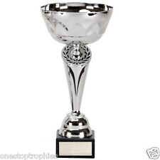 Silver Cygnus Trophy Cup in 5 Sizes with Free Engraving up to 30 Letters