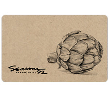 Seasons 52® Gift Card - $25, $50 or $100 - Email delivery