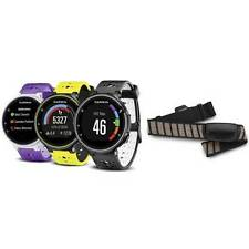 Garmin Forerunner 230 GPS Running Watch Bundle with Premium Heart Rate Monitor