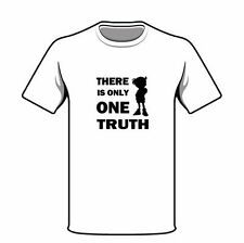 Anime DETECTIVE CONAN THERE IS ONLY ONE TRUTH White Cotton T-Shirt T Shirt