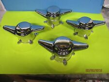 4 SPINNERS 2 BAR DOME OLD AMERICAN TORQ T 5 SPOKE ET US INDY WHEELS  2 1/8 HOLE