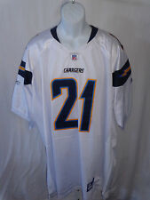 San Diego Chargers LaDainian Tomlinson Replica Sewn Football Jersey White #21