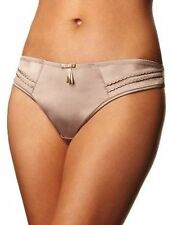 LEPEL BELLA MINK SATIN VINTAGE INSPIRED THONG BNWT STYLE 1213120
