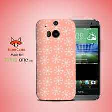 Winter Snow Flake Pattern Case Cover for HTC