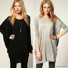 New Style Fashion Casual T-Shirt Batwing Sleeve Long Loose T-Shirt/ Blouse