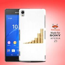 Money Coin Greed Power Notes Case Cover for Sony Xperia