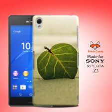 Leaf in a Sand Case Cover for Sony Xperia