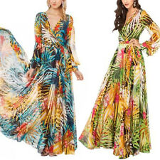 New Womens Summer Bohemia Long Maxi Dress Ladies Pregnant Maternity Casual Dress
