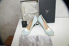 GIUSEPPE ZANOTTI DESIGN Peep-toe pumps jade Lambskin 100 mm E46123 value